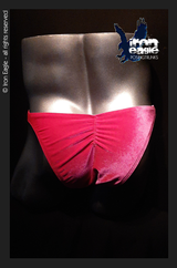 Iron Eagle Posing Trunks - Pink Velvet