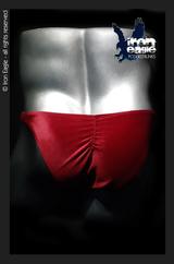 Iron Eagle Posing Trunks - Red Velvet