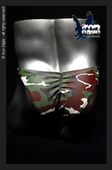 Iron Eagle Posing Trunks - Army