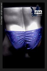 Iron Eagle Posing Trunks - Royal Blue Icechip Mystique©