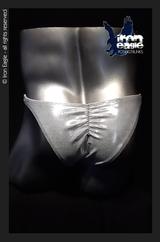 Iron Eagle Posing Trunks - Silver Mystique©