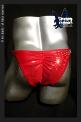 Iron Eagle Posing Trunks - Crystalized Red Mystique©