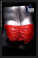 Iron Eagle Posing Trunks - Red Dazzle Mystique©