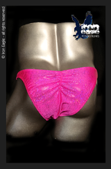 Iron Eagle Posing Trunks - Fuchsia Dazzle Mystique©