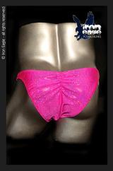 Iron Eagle Posing Trunks - Fuchsia Dazzle Mystique©