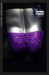 Iron Eagle Posing Trunks - Crystalized Purple Dazzle Mystique©