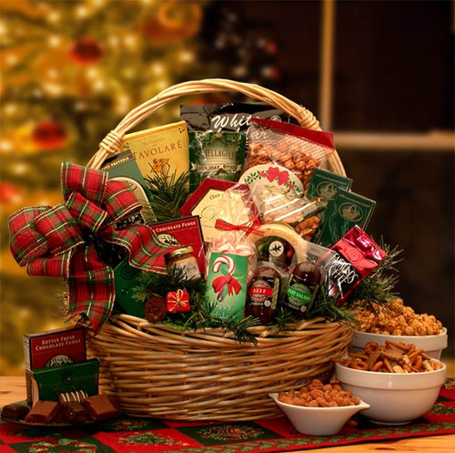 Holiday Celebrations Holiday Gift Basket