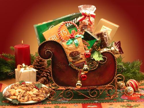 Season's Greetings Holiday Sleigh