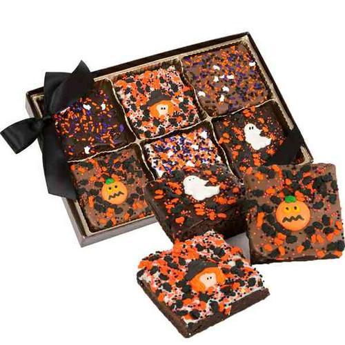 Halloween Brownies Assortment