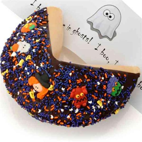 Giant Halloween Fortune Cookie