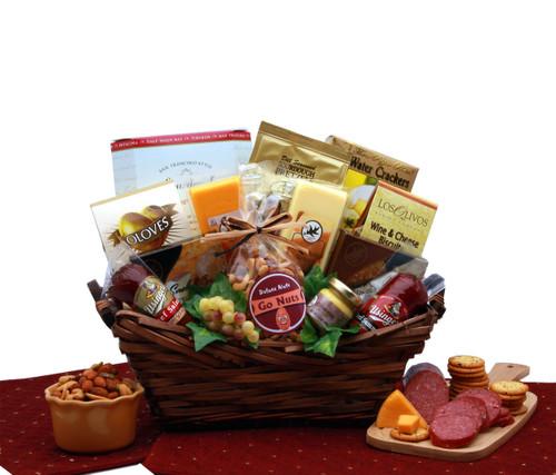 Gourmet Delights Gift Basket