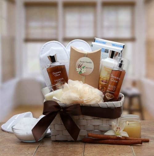 Vanilla Spa Gift basket
