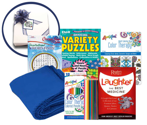 Laughter is The Best Medicine Get Well Soon Basket - Get Well Gifts for Women After Surgery - Get Well Gifts for Women