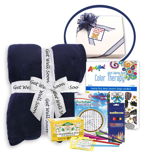 Get Well Soon Basket of Thoughtfulness & Comfort - Get Well Gifts for Women After Surgery - get Well Soon Basket - get Well Gifts for Women