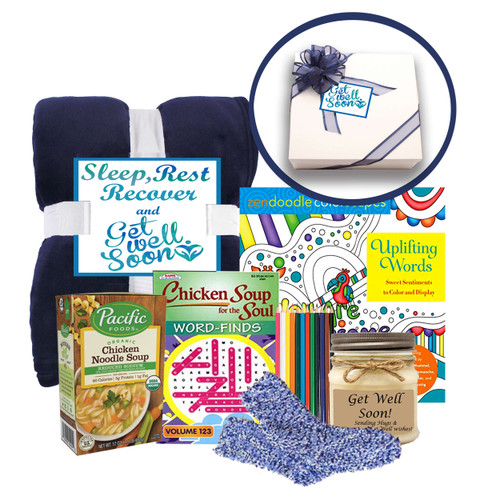 Sleep, Rest and Recover Get Well Gifts for Women - Get Well Gift