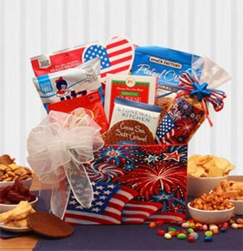 Stars & Stripes Forever Patriotic Gift Box