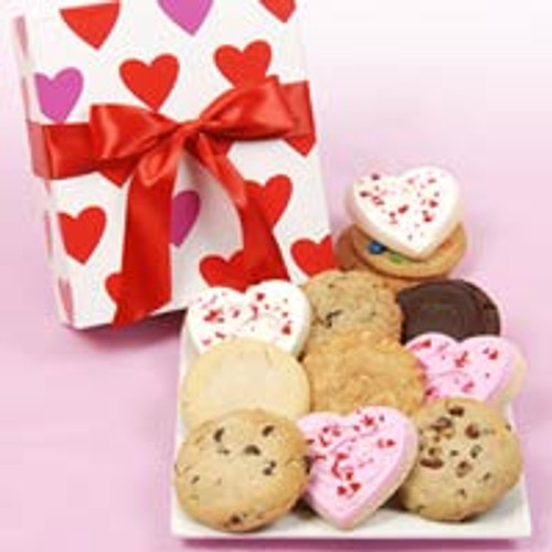 Happy Valentine's Cookie Box