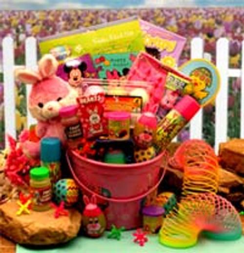 Little Pinkie Bunnies Easter Fun Pail