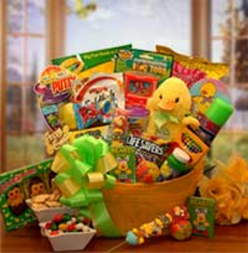 Easter Sunshine Little Duckling Gift Pail