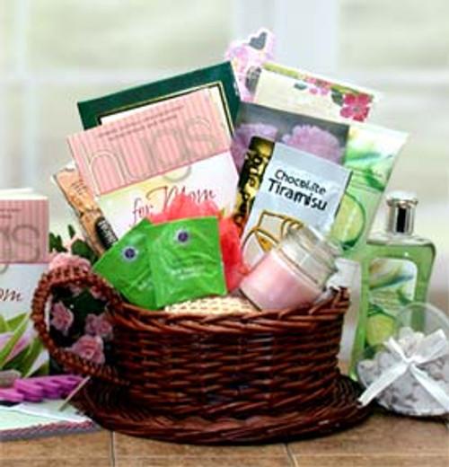 Mom Deserves A Hug & Some Relaxation Gift Basket