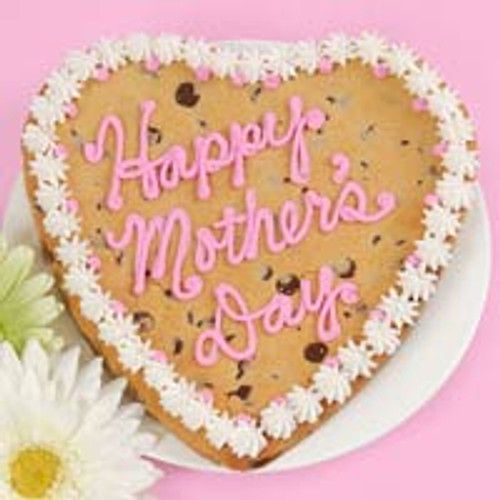 Giant Happy Mother's Day cookie
