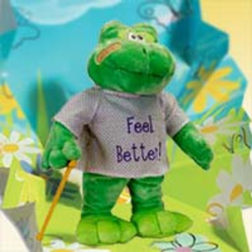 """Feel Better Hoppy the Frog """"Sings """"I'm feeling good"""""""