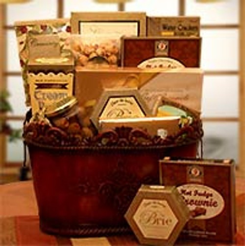 The Gourmet Encore Gift Basket