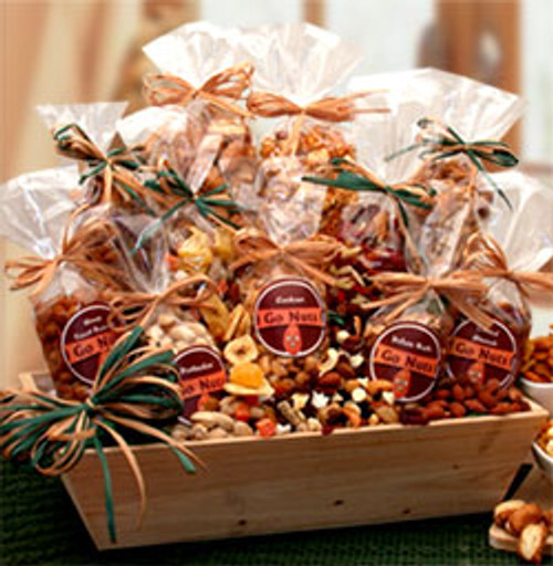 Go Nuts - Premium Nuts & Snacks Assortment