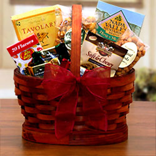 Mini Snacks Gift Basket