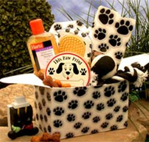 Paw prints Doggie Care Package