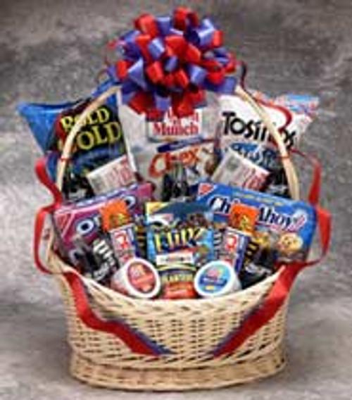 Coke Snack Works Gift Basket (oversized box)