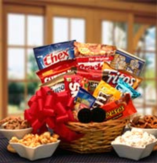 Snack Lovers Sampler Gift Basket