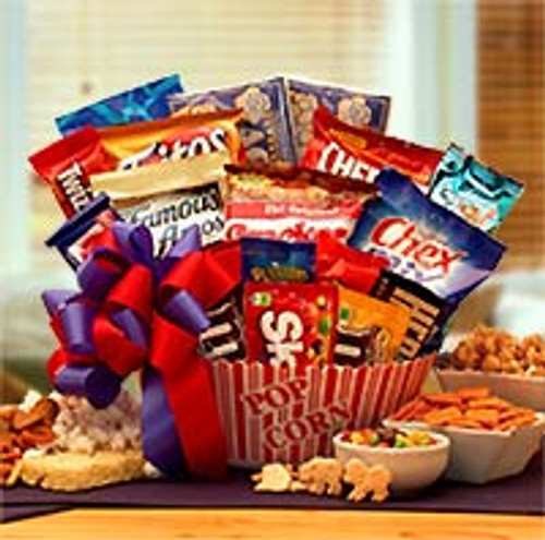 Snack Time Favorites Gift Basket