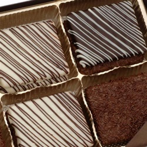 Gourmet Brownie Sampler Gift Box