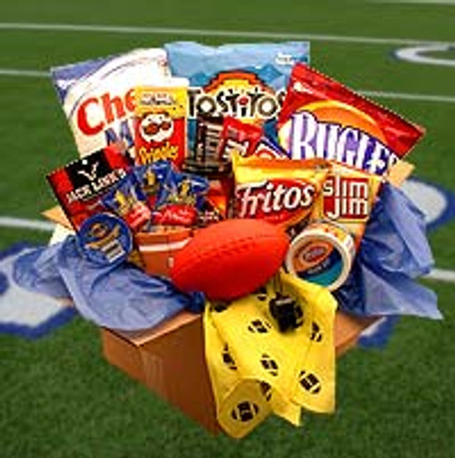 Touchdown Game Time Snacks Care Pakage