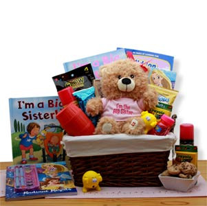 Im The Big Sister Childrens Gift Basket