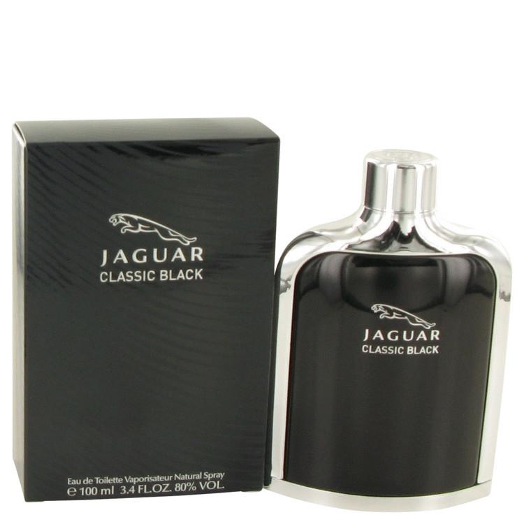 Jaguar Black Mens Cologne by Jaguar Edt Spray 3.4 oz