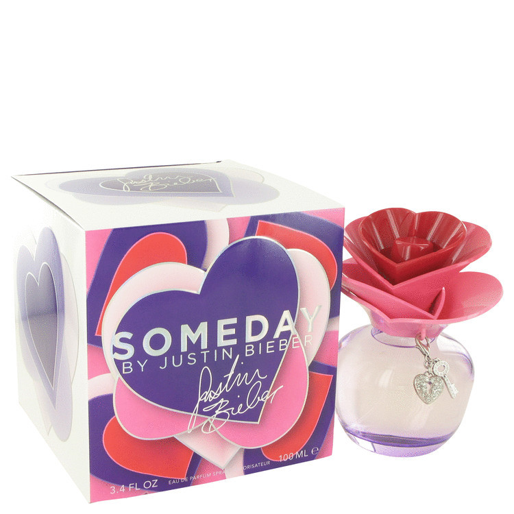 Someday Perfume for Women by Justin Bieber Edp Spray 3.4 oz