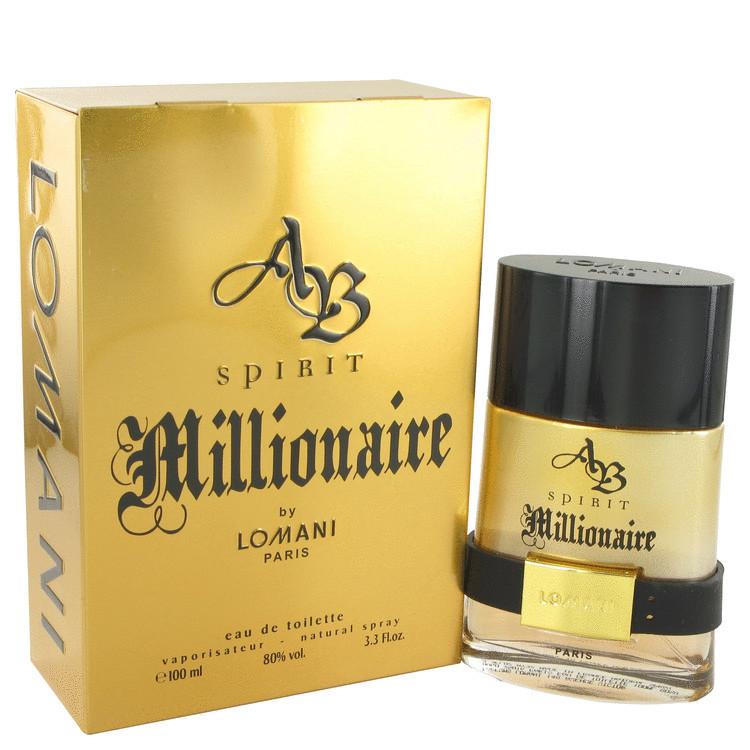AB SPRIT MILLIONAIRE By Lomani Womens EDT 3.3oz