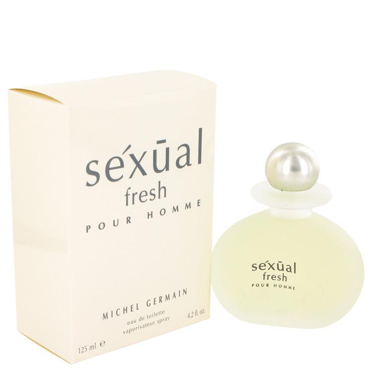 Sexual Fresh EDT Spray fro Men by Michel Germain 4.2 oz
