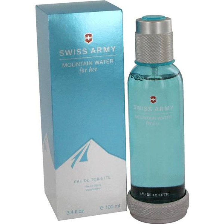 Womens Swiss Army Mountain Water by Swiss Army Perfume Edt Spray 3.4 oz