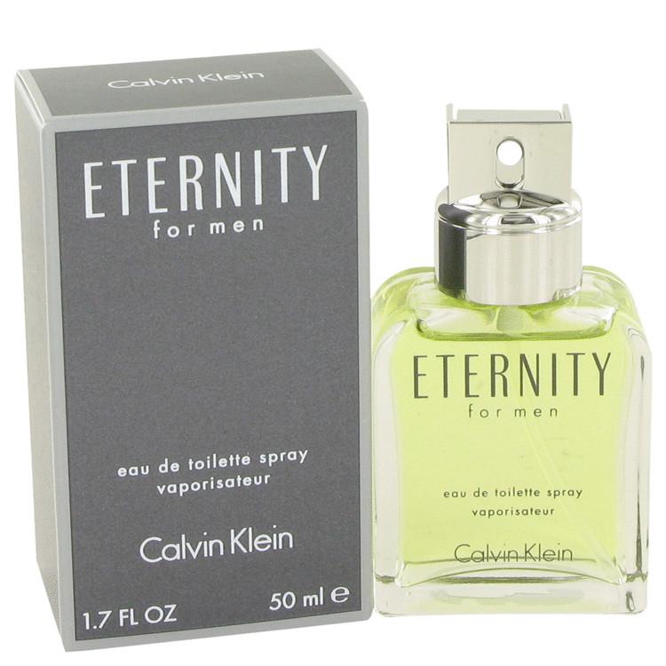 Eternity Cologne for Mens By Calvin Klein Edt Spray 1.7 oz