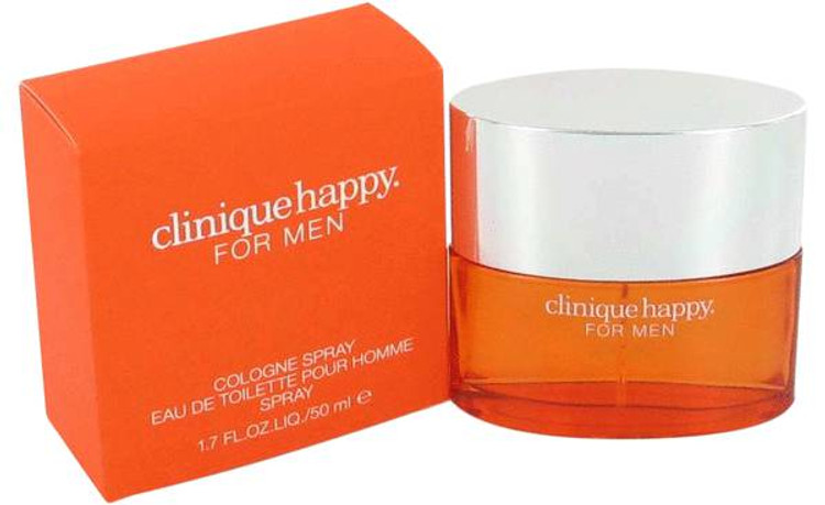 Happy Cologne By Clinique For Men Eau de Toilette Edt Spray 3.4 oz