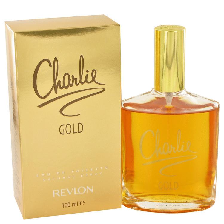 Charlie Gold by Revlon for Women Edt Spray 3.3 oz