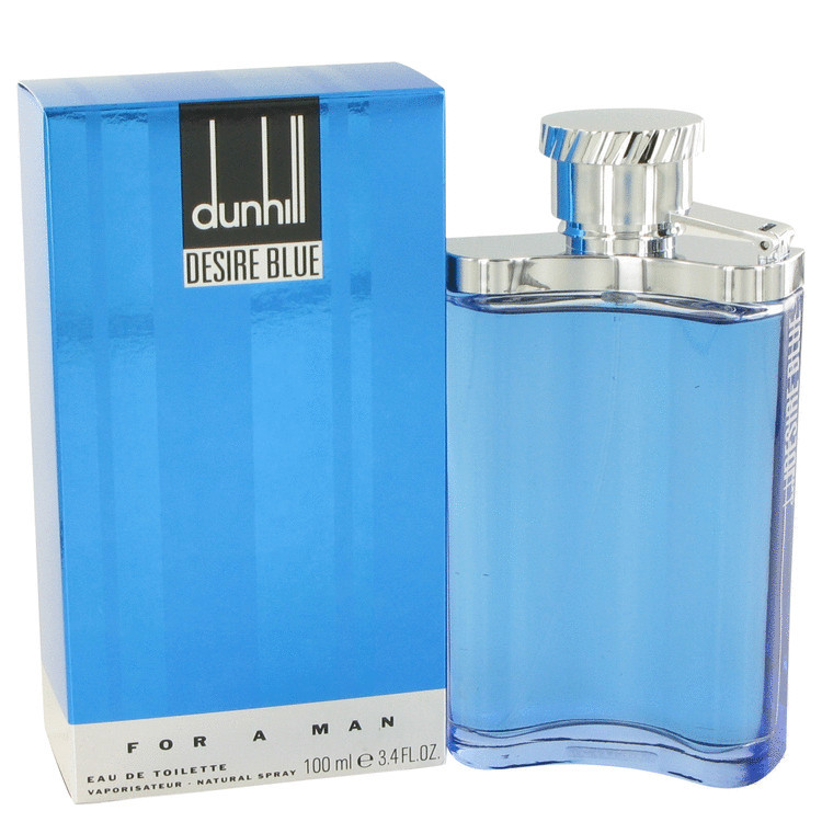 Desire Blue London Cologne for Men by Alfred Dunhill Edt Spray 3.4 oz