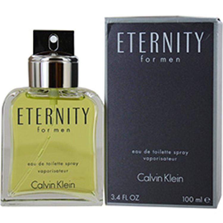 Calvin Klein Eternity for Men Eau De Toilette, 3.4 oz