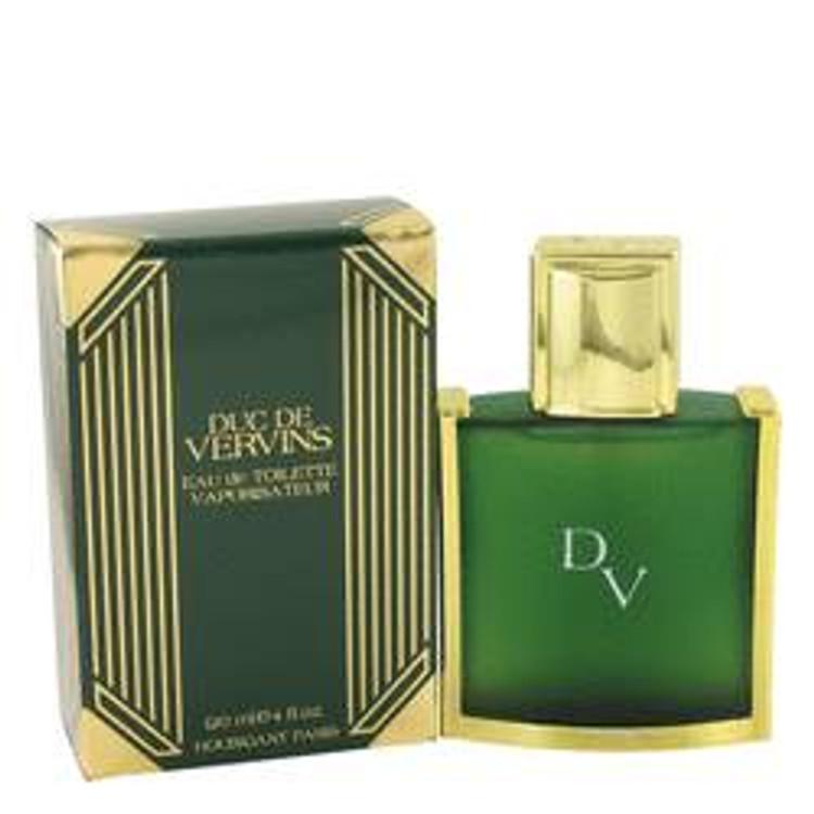 Duc De Vervins For Men By Houbigant Edt Spray 4.0 oz