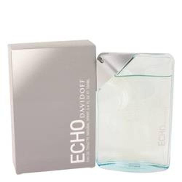 Echo By Zino Davidoff Men Cologne  Edt Spray 3.4 Oz