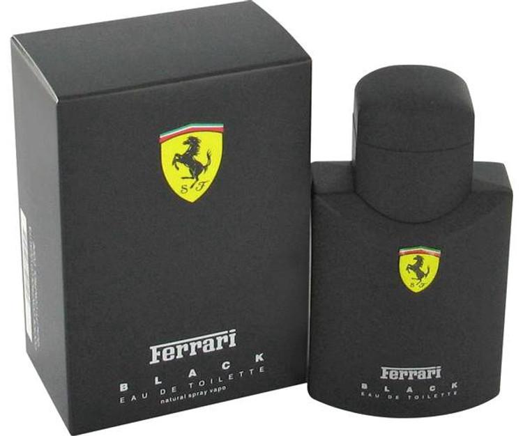 Ferrari Black by Ferrari Men Cologne  Edt Spray 2.5 oz