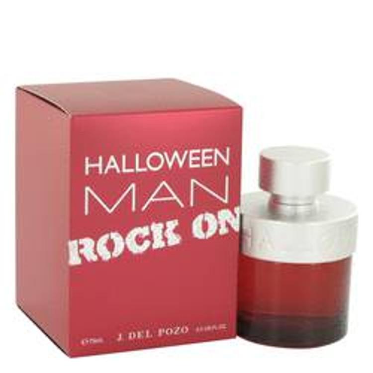 Halloween Rock  Cologne Men's  by J. Del Pozo Edt Spray 2.5oz